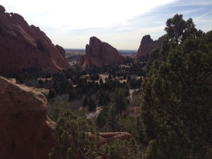 Garden of the Gods March 2014