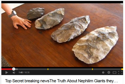 giant arrowheads