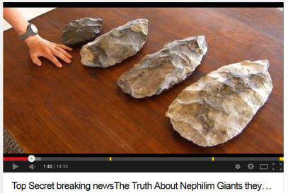 giant arrowheads