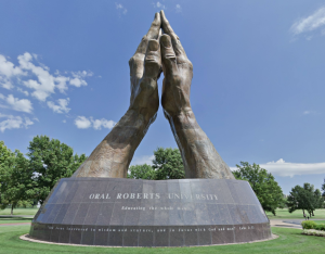 praying hands ORU